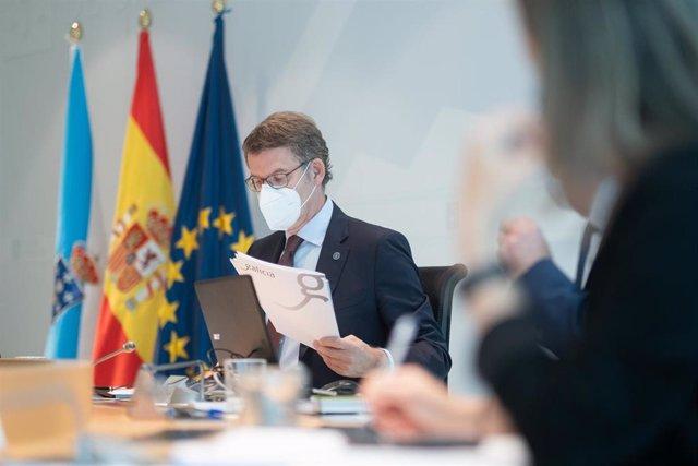 AV.-Galicia.- La Xunta modificará su Ley de Salud para gestionar la pandemia e incluirá medidas preventivas y sanciones