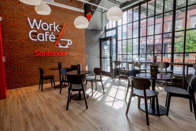 Santander Work Cafe en Brooklyn