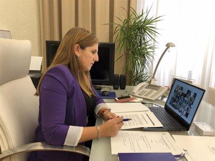 Irene García apoya el acuerdo de FEMP para que las diputaciones accedan a fondos Covid que se pongan en marcha