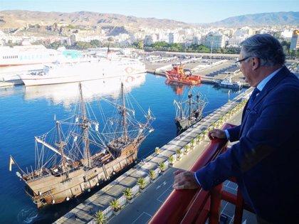 """El presidente de la Autoridad Portuaria de Almería, """"satisfecho"""" con los PGE, que recogen parte del Plan de Empresa"""