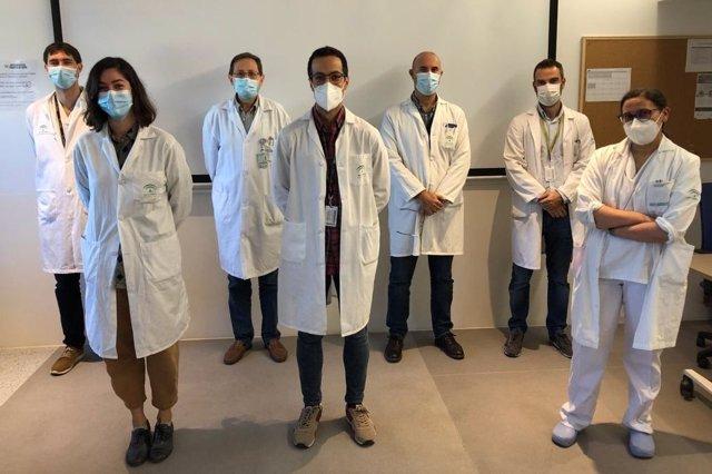 Profesionales de Neurología del Hospital Virgen de las Nieves de Granada