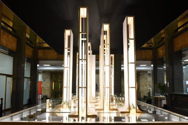 Imagen de la exposición de homenaje a Galdós en el Instituto Cervantes