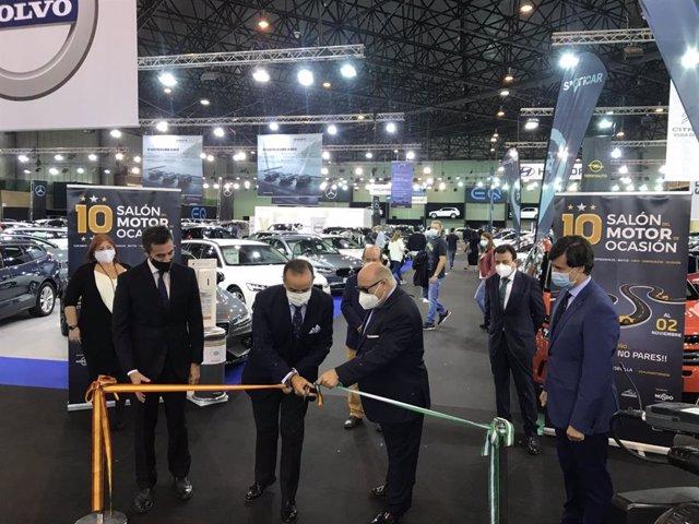 Inauguración del Salón del Motor de Ocasión de Sevilla