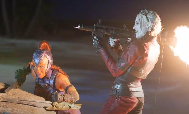Margot Robbie en El Escuadrón Suicida de James Gunn