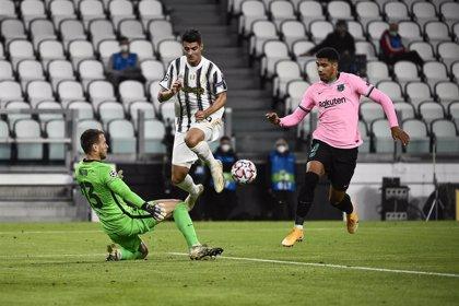 Araujo, baja en el Barça por una lesión en el bíceps femoral