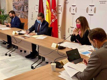 El Ayuntamiento de Murcia coordina con las pedanías las medidas urgentes ante el confinamiento perimetral