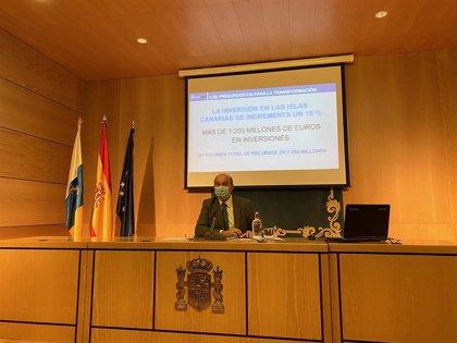 El proyecto de Ley de los PGE destinan a Canarias casi 7.000 millones, de los que 1.235,6 millones irán a inversiones