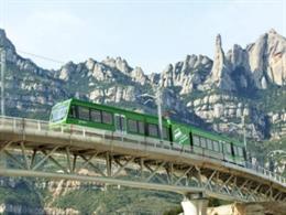 FGC adapta el servicio a sus destinos turísticos por las medidas para reducir la movilidad ante las nuevas restricciones del Govern, el 29 de octubre de 2020.