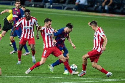 El Atlético recibirá al Barça el sábado 21 a las 21:00 en la décima jornada