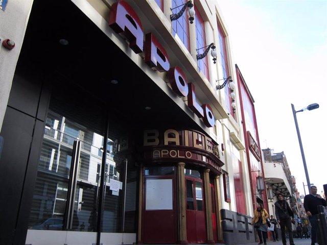 Sala Apolo de Barcelona (Archivo)