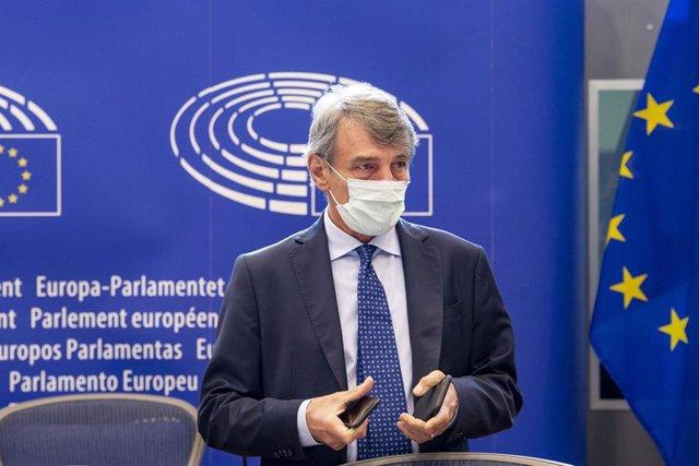 El presidente del Parlamento europeo, David Sassoli, en una imagen de archivo