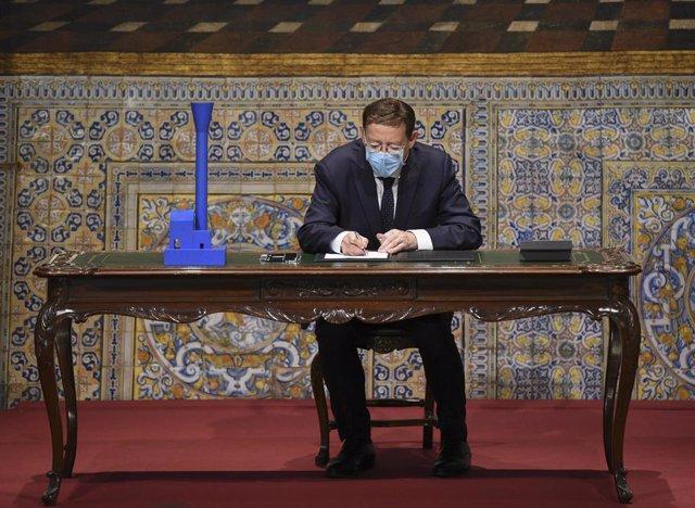 El president de la Generalitat valenciana, Ximo Puig, en imagen de archivo