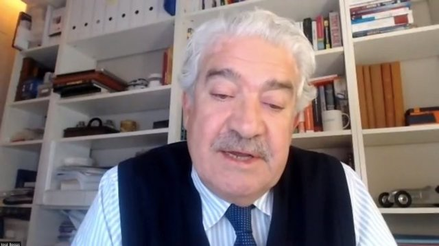 El consejero delegado de Endesa, José Bogas, en la 31 Trobada Empresarial al Pirineu, realizada telemáticamente