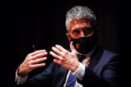"""Marlaska recuerda a Madrid que las medidas """"efectivas"""" deben tener una """"duración temporal"""" y pide no generar """"confusión"""""""