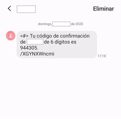 Policía Nacional alerta de la existencia de una oleada de tentativas de estafa mediante solicitud de un código on line