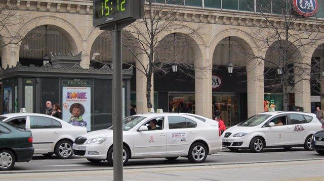 El sector del taxi, otro de los grandes afectados en la crisis sanitaria