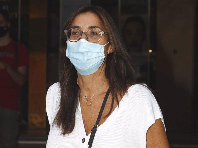 """Paz Padilla, en una imagen de archivo, asistió anoche al estreno de """"La última tourné"""""""
