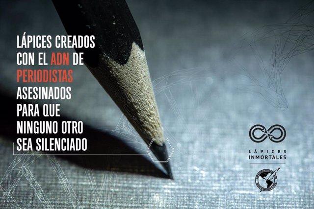 Campaña 'lápices importales' de la SIP para recordar a los periodistas asesinados