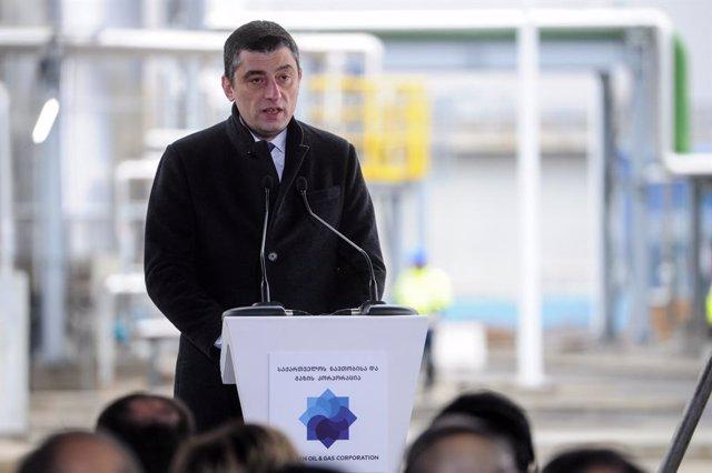 Giorgi Gakharia, primer ministro de Georgia