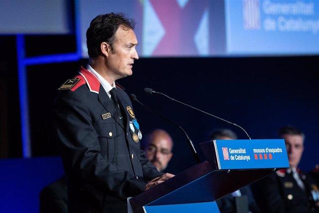 Eduard Sallent, comisario jefe de los Mossos d'Esquadra