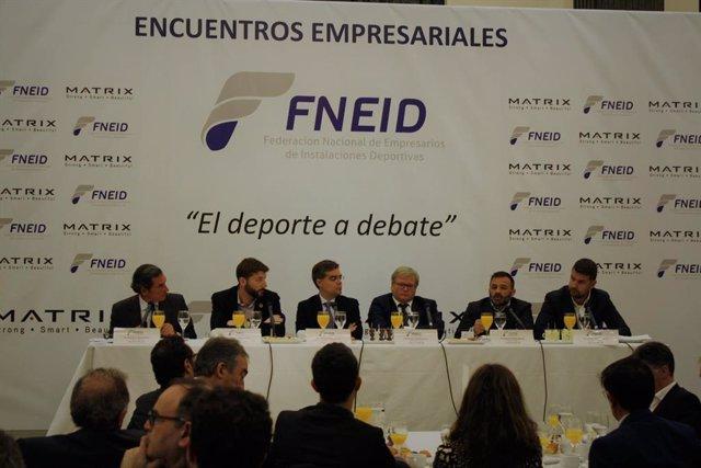 Encuentro de FNEID con los partidos políticos