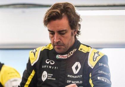Alonso volverá a pilotar el Renault la próxima semana en Baréin