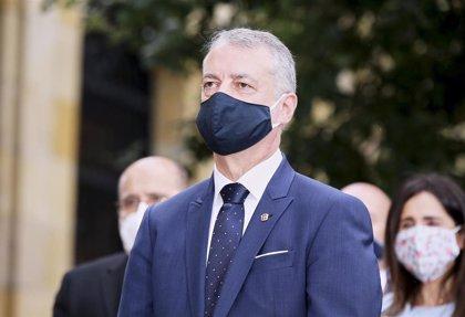 Urkullu califica de terrorismo los incidentes de los 'negacionistas' en Bilbao porque atenta contra la salud