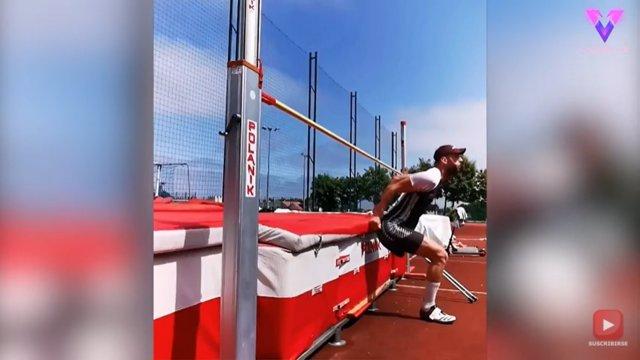 Este hombre supera una amputación y se convierte en atleta paralímpico
