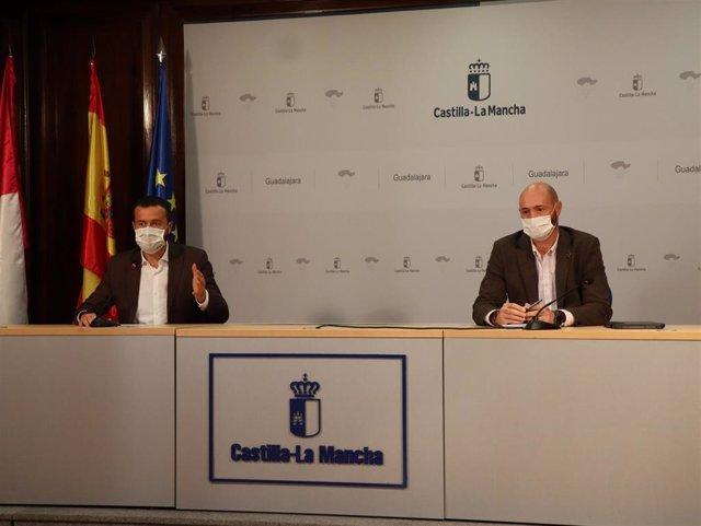 El consejero de Desarrollo Sostenible de C-LM, José Luis Escudero