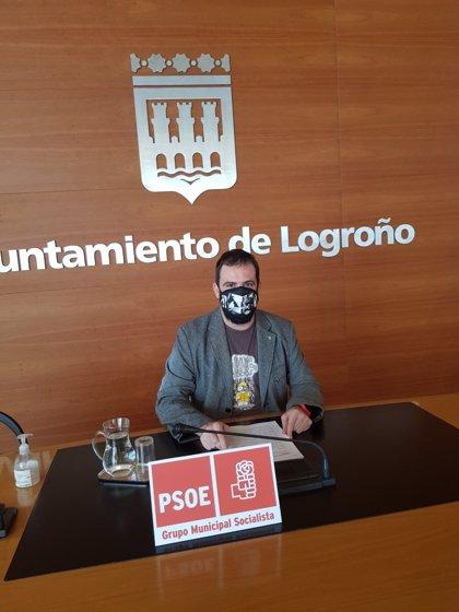 """El PSOE ve """"realistas"""" las nuevas Ordenanzas fiscales de Logroño y critica la """"demagogia"""" de PP y Cs al oponerse"""