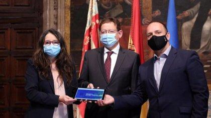 """La Generalitat cierra los """"presupuestos de la reactivación valenciana"""" con 25.627,5 millones, 2.605 más que en 2020"""
