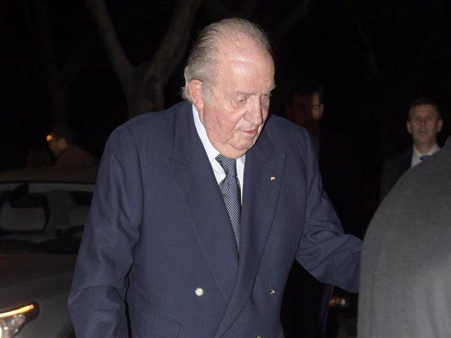El Rey don Juan Carlos en una de sus últimas apariciones públicas