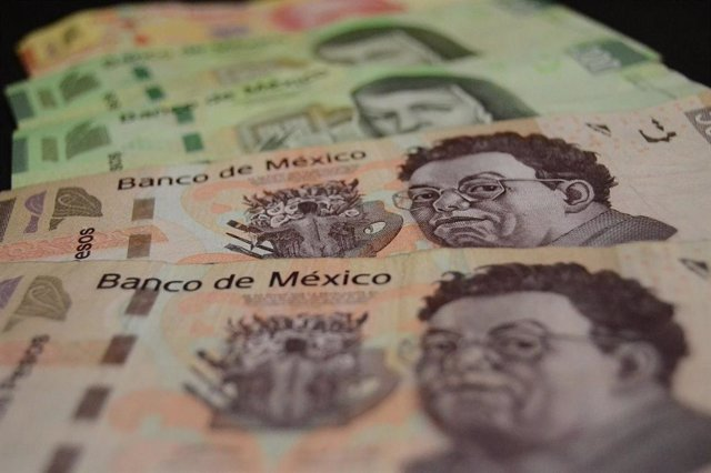 Billetes de pesos mexicanos