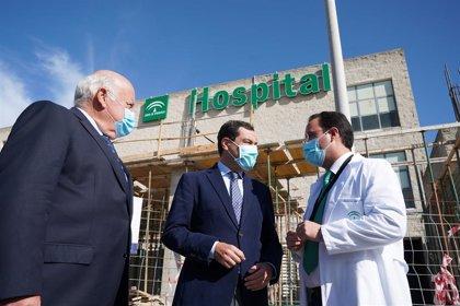 Moreno anuncia una inyección de 50 millones más para reforzar la sanidad andaluza ante la pandemia