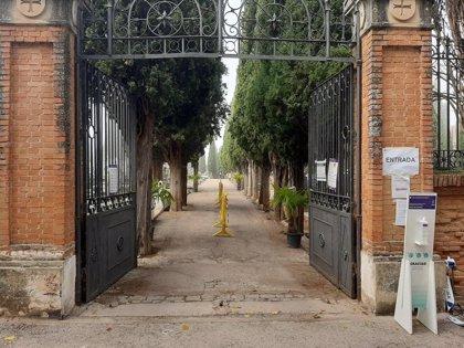 Aforo limitado a 250 personas y estancia máxima de 30 minutos, normas en el cementerio de Guadalajara este fin de semana