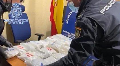Detenido un hombre con más de 30 kilos de cocaína en la estación Sur de Autobuses de Madrid