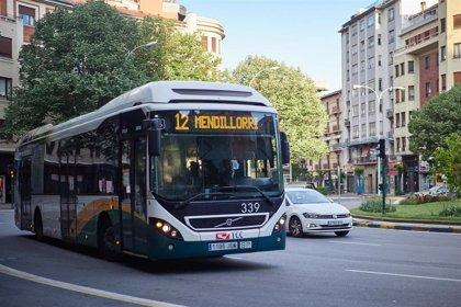 Desde el lunes sólo prestarán servicio tres de las diez líneas nocturnas del transporte urbano comarcal