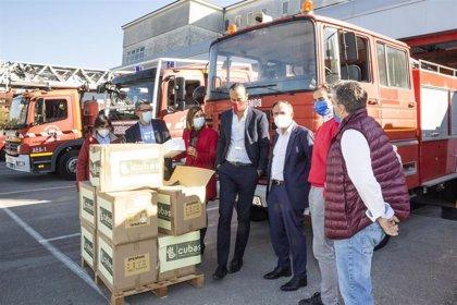 """Cantabria impulsa un avance """"histórico"""" para bomberos con la ley de servicios de incendios"""