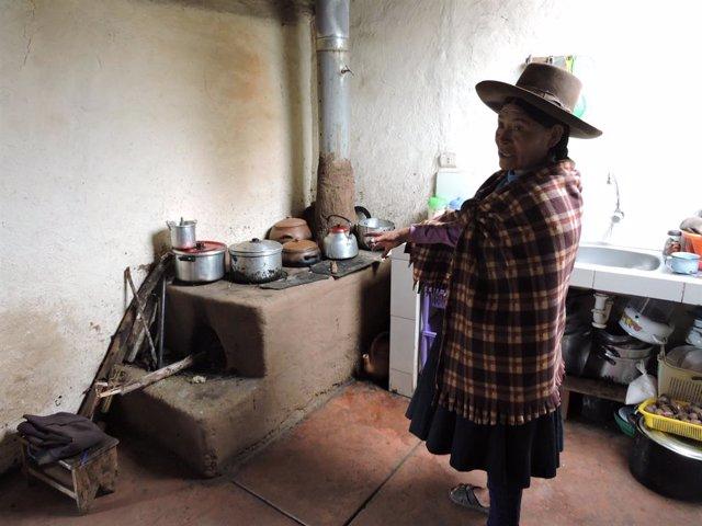 Una vivienda rural en Cusco