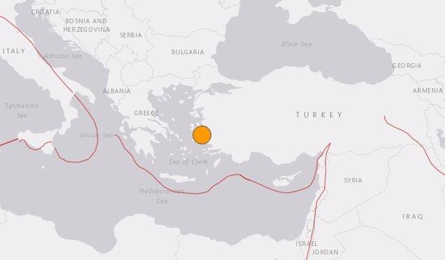 Terratrèmol a Esmirna (Turquia)