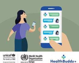 La OMS y UNICEF actualizan la aplicación 'HealthBuddy +' con nueva información sobre el Covid-19