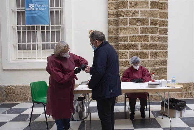 Realización de test a empleados de Diputación