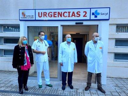 El Hospital de Soria abrirá la próxima semana la nueva zona de Urgencias y la ampliación de las cuatro camas UCI