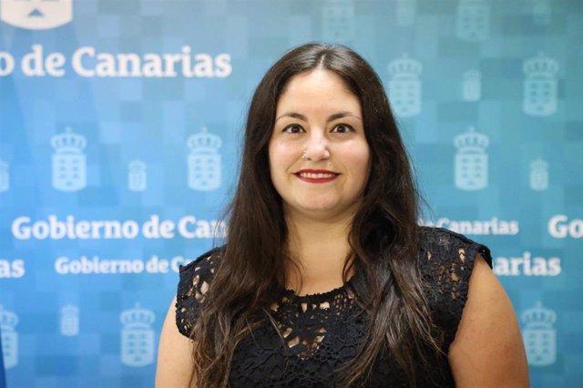 Laura Fuentes, directora general de Juventud del Gobierno de  Canarias