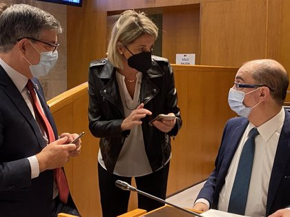 """Lambán dice que el Estado autonómico """"hace posible la unidad de España"""""""