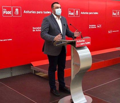 """Barbón advierte ante la FSA-PSOE de una situación """"muy preocupante"""" en las tres ciudades, particularmente en Gijón"""