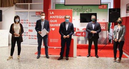 PSOE exige a la Junta refuerzo sanitario tras el apoyo socialista para el cierre perimetral de La Vega de Málaga