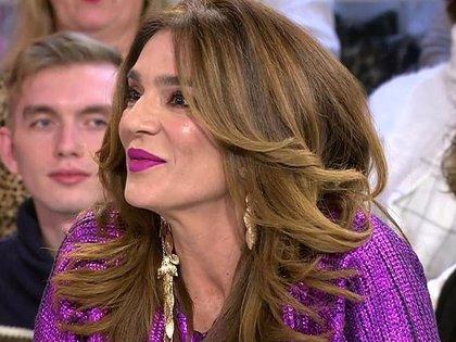 Raquel Bollo entra en directo en 'Sálvame' después de meses sin aparecer en el programa