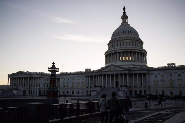 El Capitolio, sede del Congreso de Estados Unidos