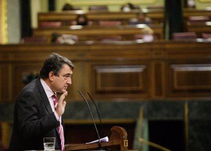 """PNV llama a corregir  la """"baja"""" inversión en Euskadi de los PGE"""